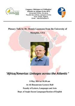 Poster for plenary talk
