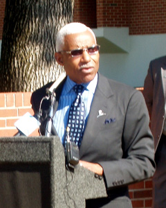 Mayor A C Wharton