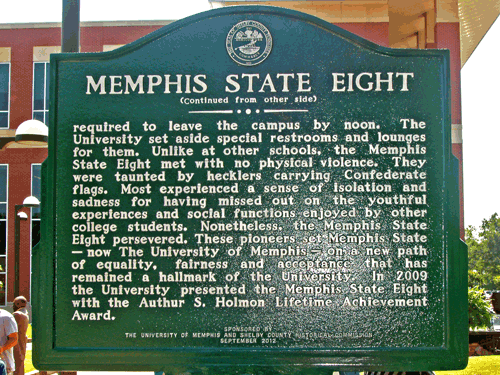 Back of historical marker