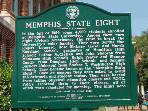Front of historical marker