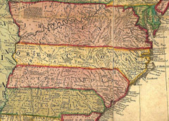 Another early map of North Carolina