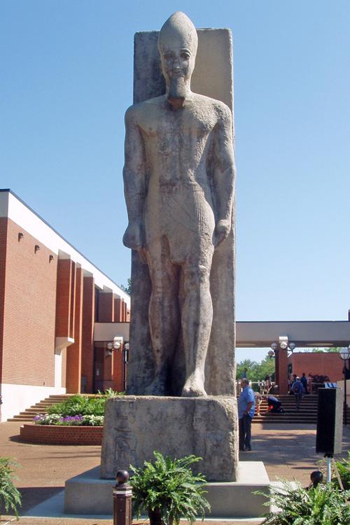Replica of Ramesses II statue