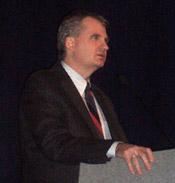 Snyder speaking