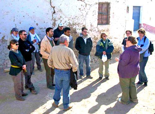 Visitors at Theban Tomb 16