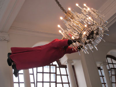 Tutu chandelier, first photo
