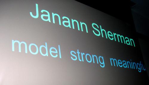 Tribute to Janann Sherman