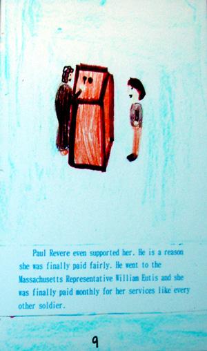 Abigail Kellett's story of Deborah Sampson Gannett