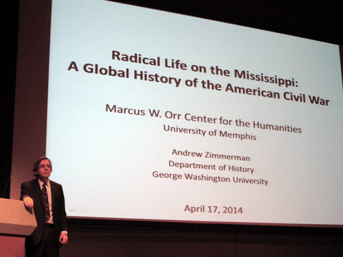 Dr Andrew Zimmerman and title image