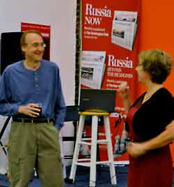 Andrei Znamenski at Russian Cultural Center