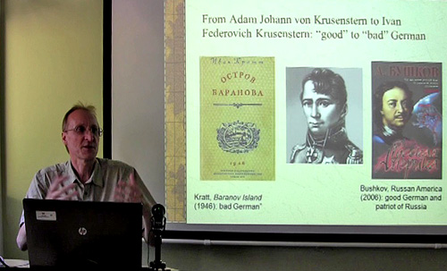 Dr Znamenski at the conference