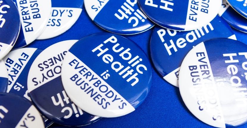 Public Health Button