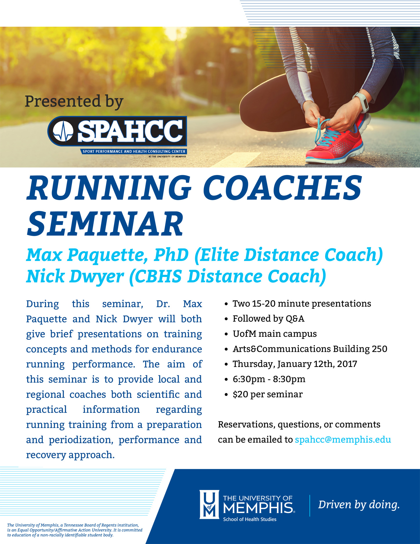 Running Coaches Seminar