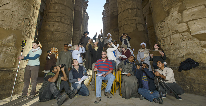 If you would like to know more about The Karnak Great Hypostyle Hall project or would like to Support the project you may contact:  Dr. Peter J. Brand Associate Professor of Ancient History Institute of Egyptian Art and Archaeology