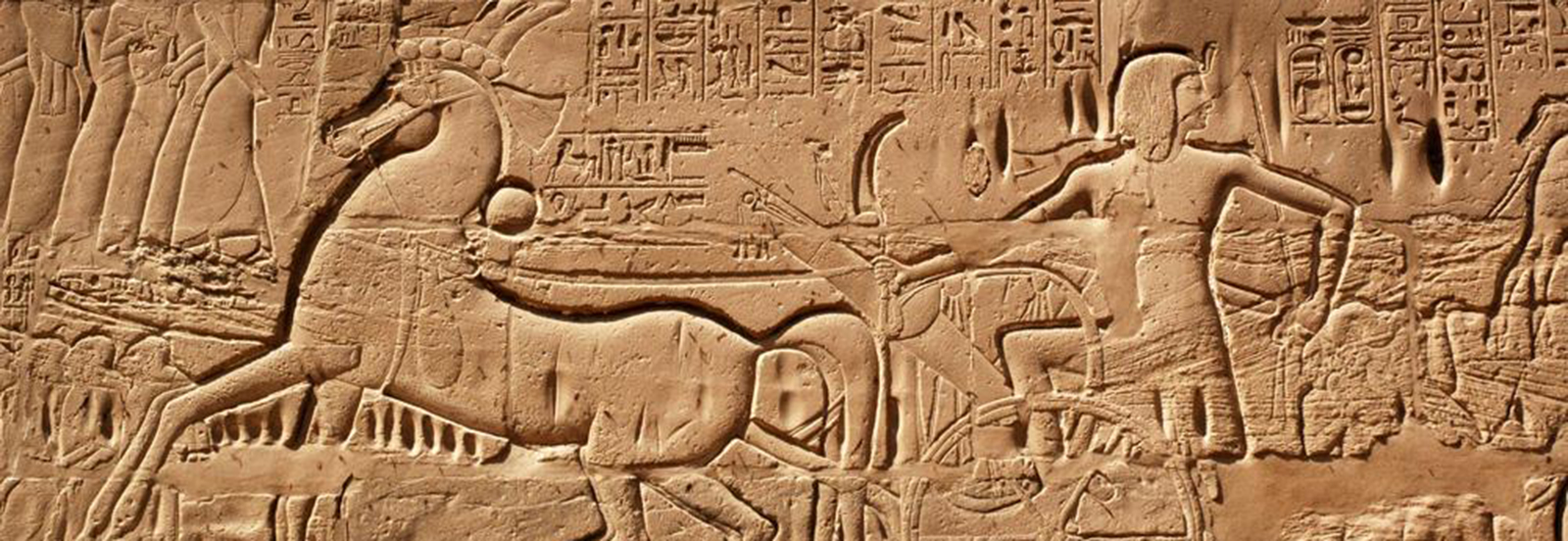 The war scenes of Seti I were copied by the Epigraphic Survey of the  University of Chicago in the 1970s. This definitive record is already invaluable since the reliefs have decayed rapidly since then.