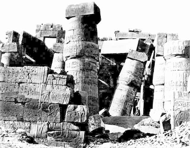 Fallen column