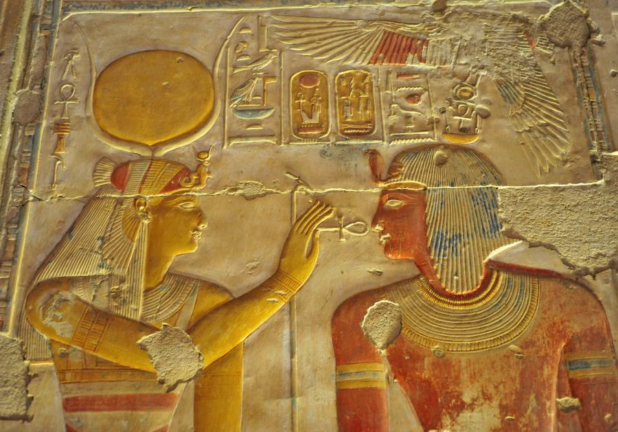Sety I relief Abydos