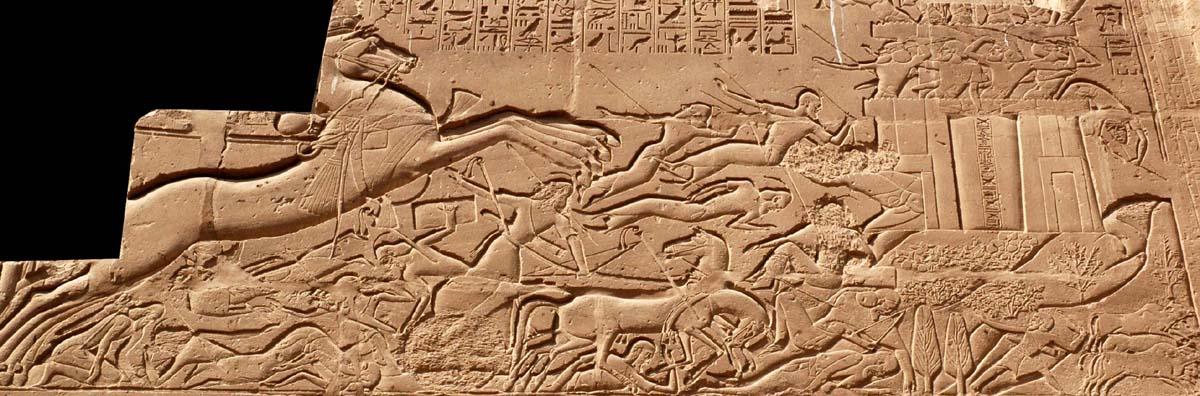 Sety attacks Kadesh