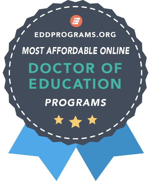 eddprograms.org most affordable online doctor of education program award