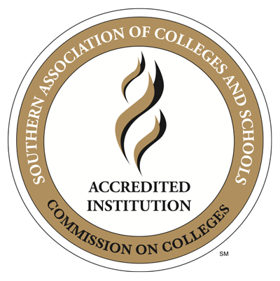 Southern Association of Colleges and Schools Commission on Colleges | Accredited Institution (stamp)