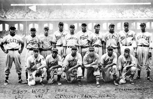 East Squad from 1939 East-West All Star Game, courtesy of the National Baseball Hall of Fame and Museum