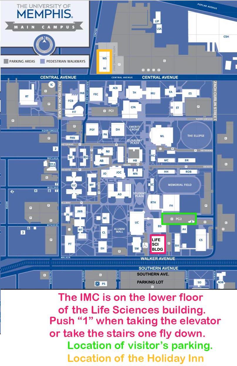 University Of Memphis Campus Map   Davidterrenoire