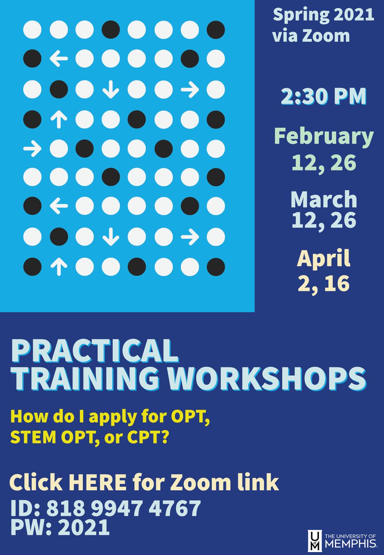 PT Workshop Flyer