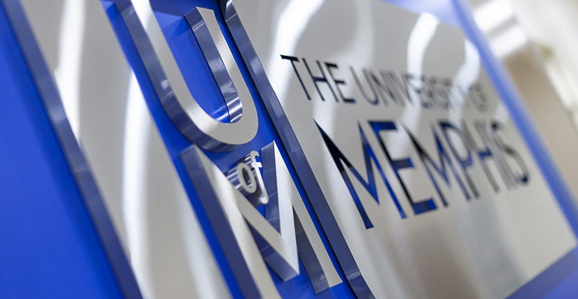 University of Memphis Sign