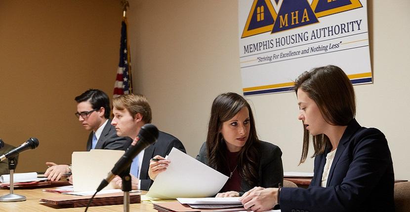 Housing Adjudication clinic students
