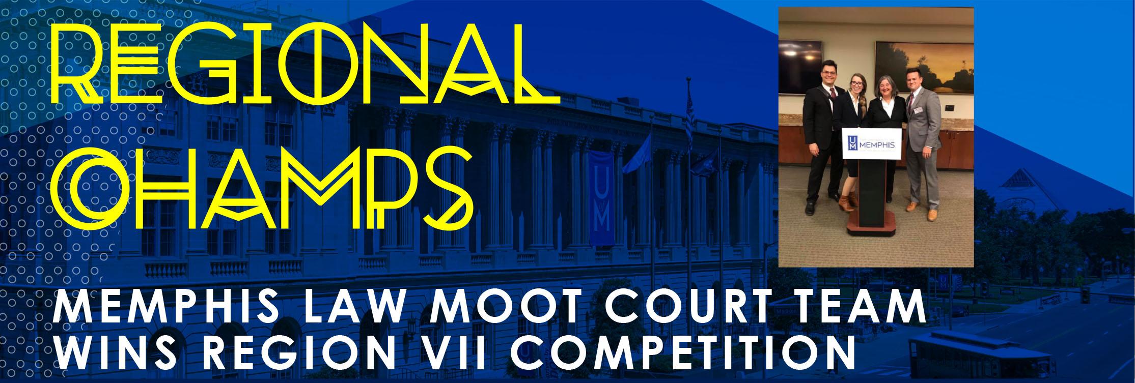 Moot Court championship banner