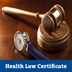 health law certificate