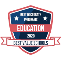 Best Docorate Programs Education award badge from Best Value Schools