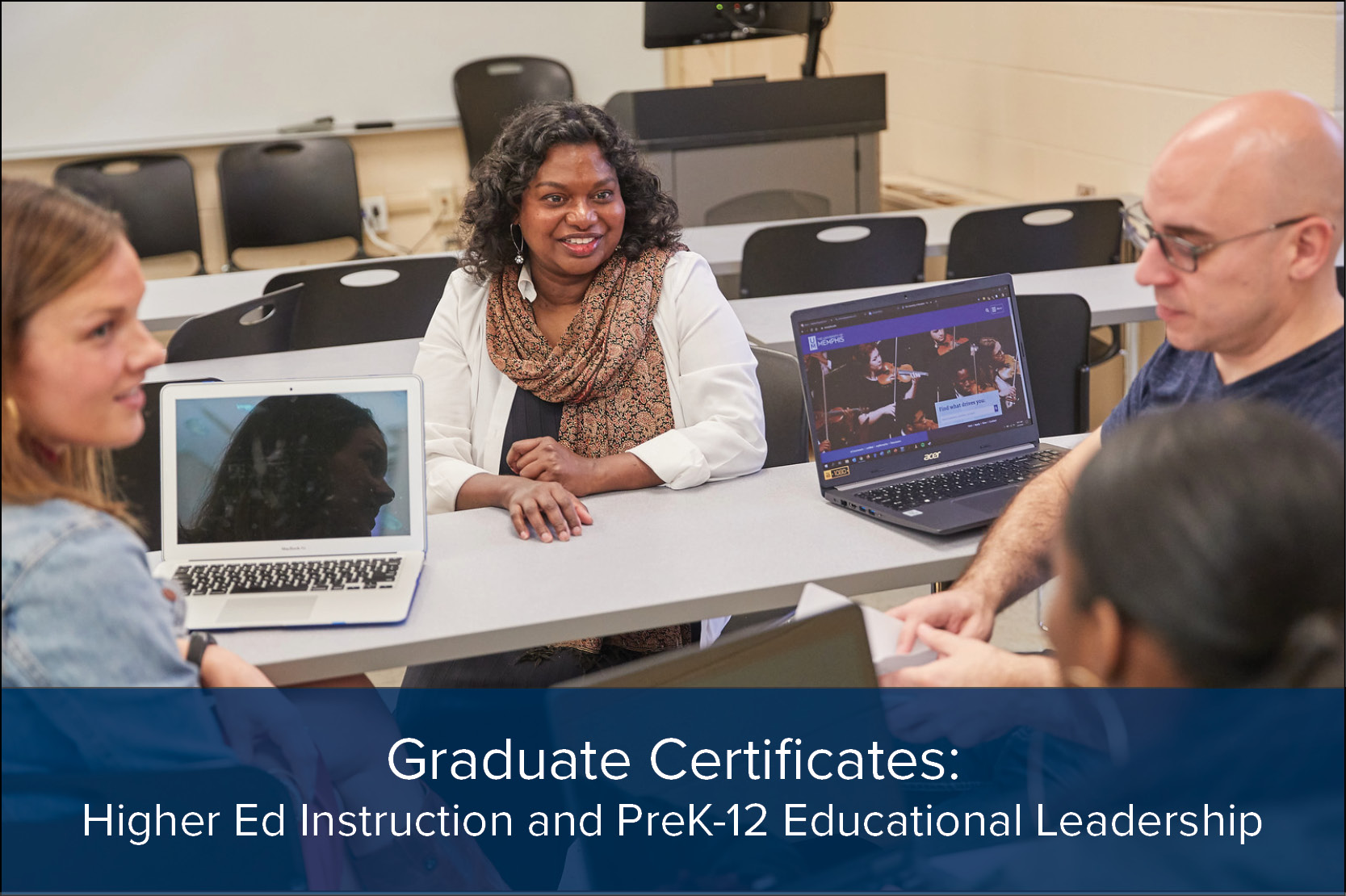 Graduate Certificates: Higher Ed Instruction and Prek-12 Leadership