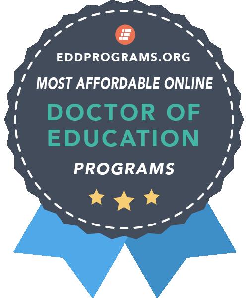 eddprograms.org Most affordable online program: Doctor of Education