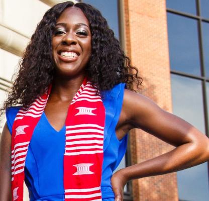Alexandria Moore graduate