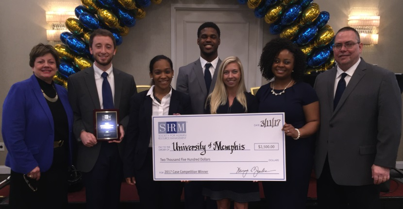 #1 in the US Central Division SHRM Student Case Competition