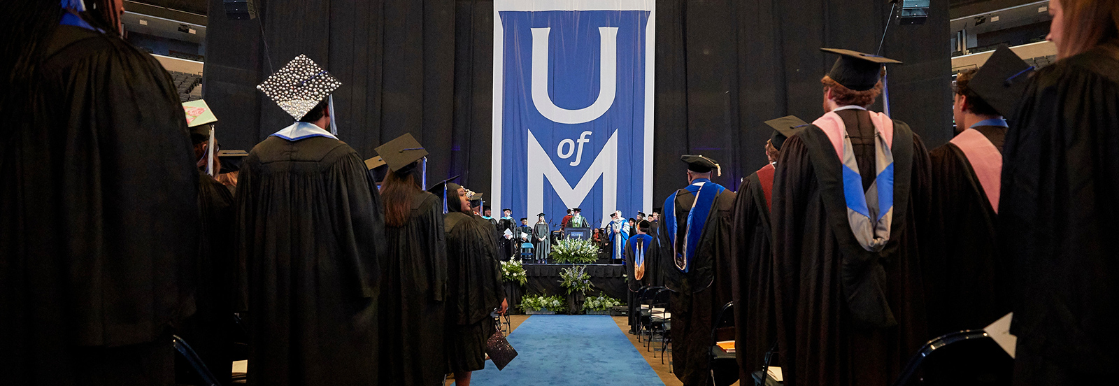 UofM Students at Graduation