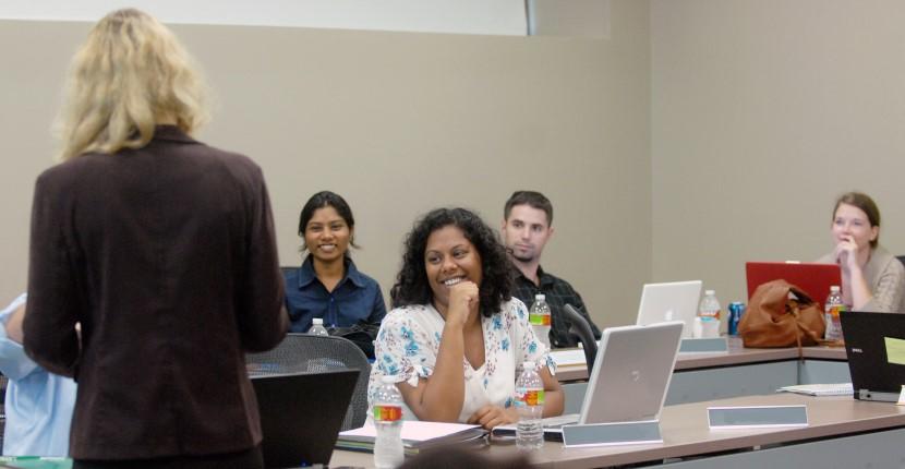 Teaching To A Management Class