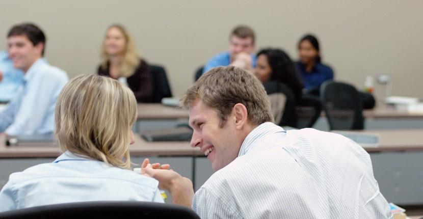 Management Students Conversing