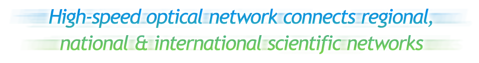 High-speed optical network connects regional, national & international scientific networks