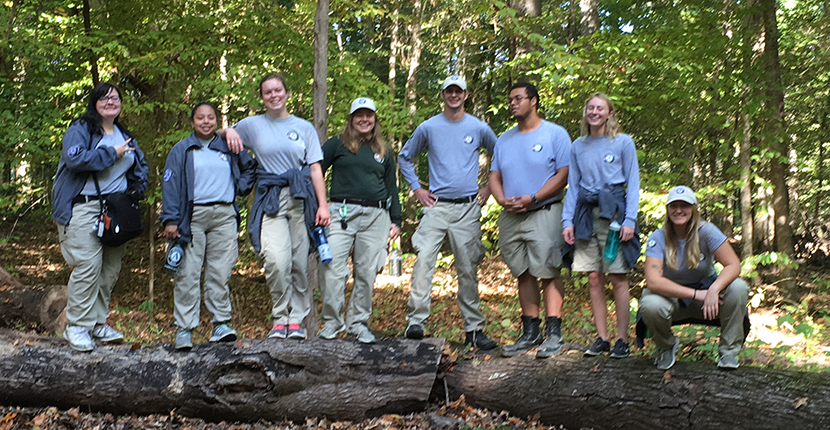 Team Delta Five from AmeriCorps National Civilian Community Corps
