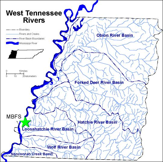 West Tennessee Rivers Meeman University of Memphis