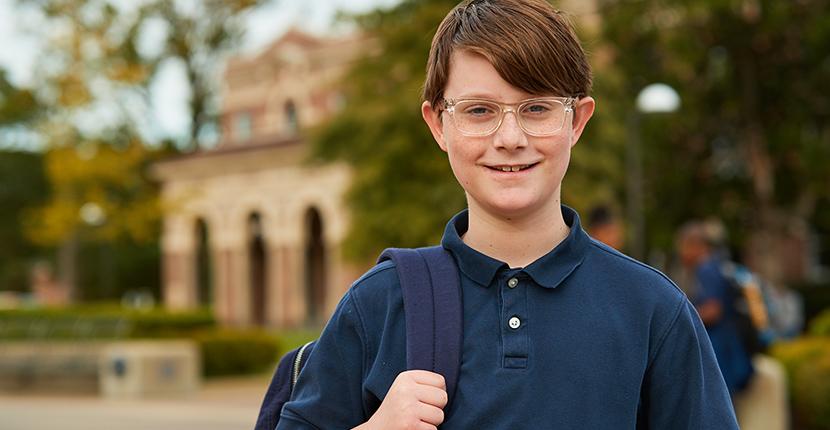 Campus School Student