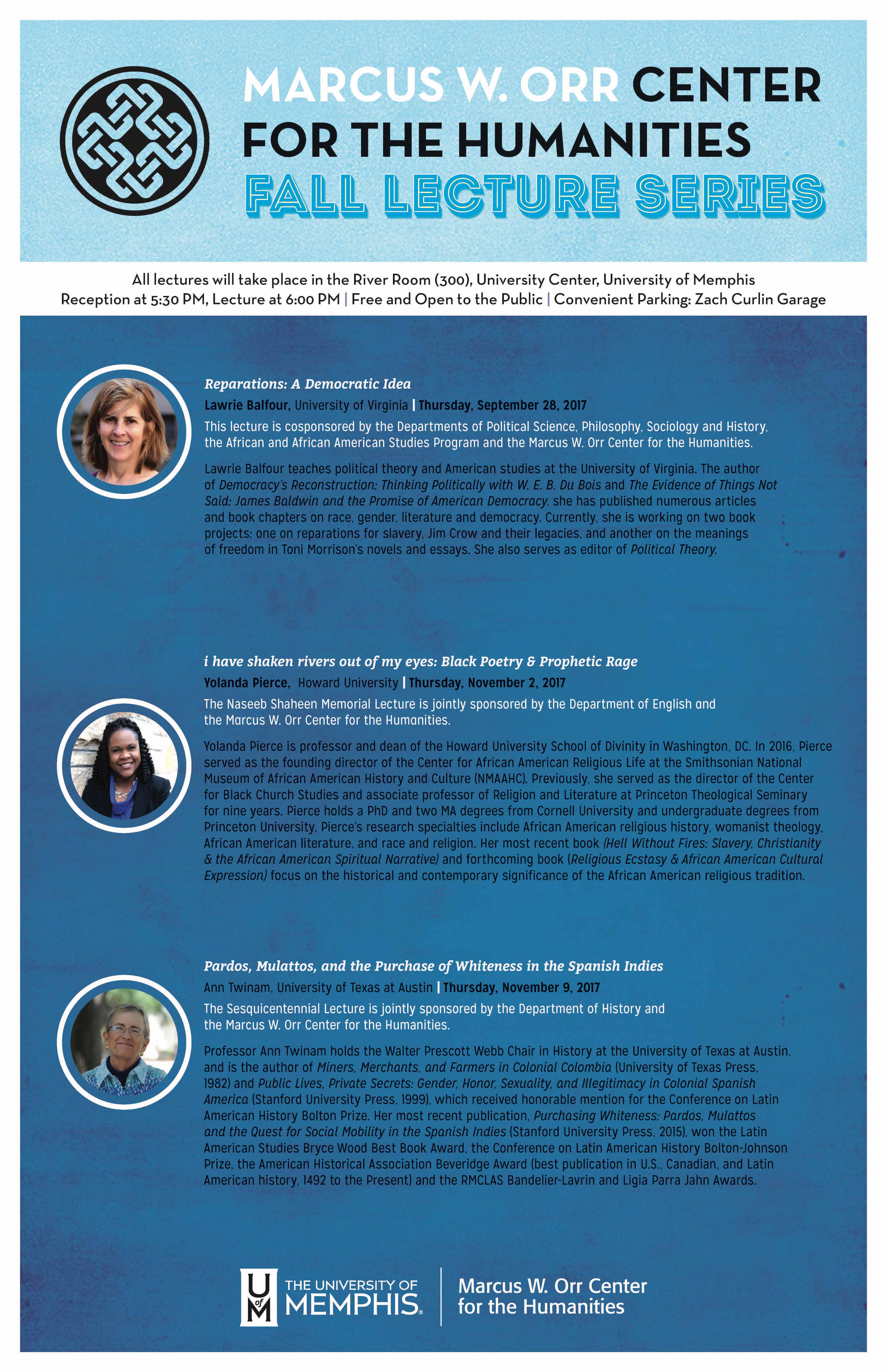 MOCH Fall 2017 Lecture Series