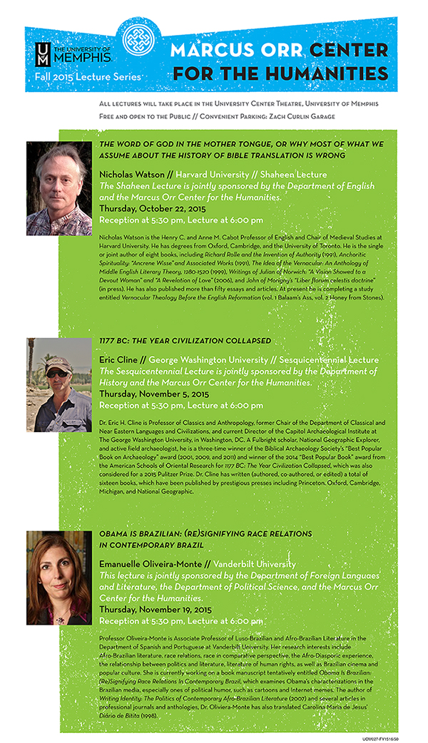 MOCH Fall 2015 Lecture Series