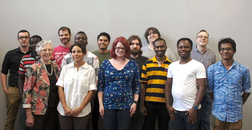 Math Learning Center group photo