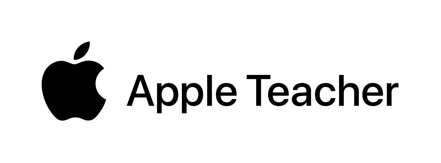 Certified Apple Teacher credential logo