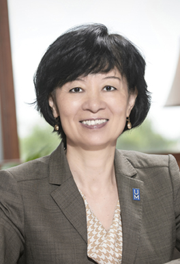 Nursing Dean Lin Zhan