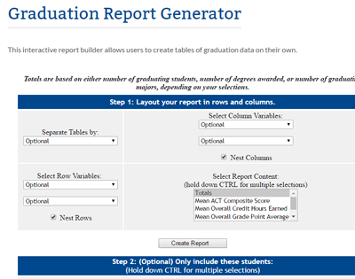 Graduation Report Generator Thumbnail