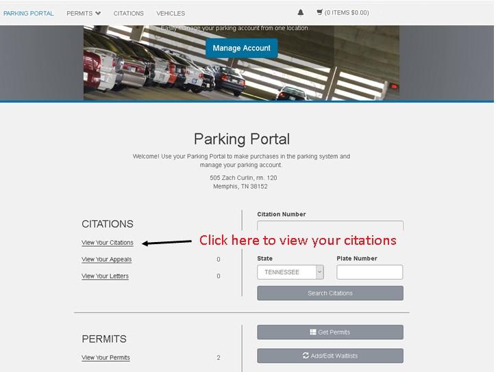 TigerPark Home Page