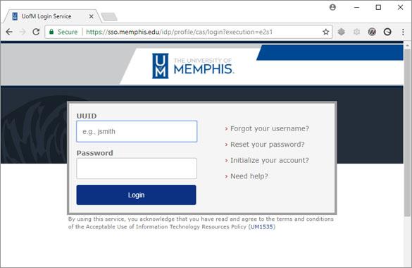 myMemphis Portal